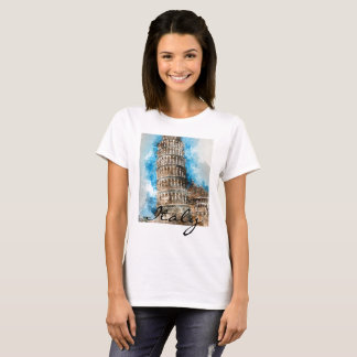 Leaning Tower of Pisa in Italy T-Shirt