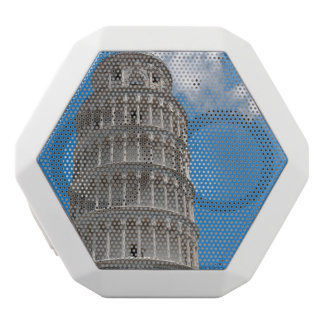 Leaning Tower of Pisa in Italy White Bluetooth Speaker