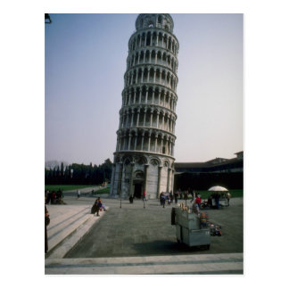 Leaning Tower of Pisa, Italy Postcard