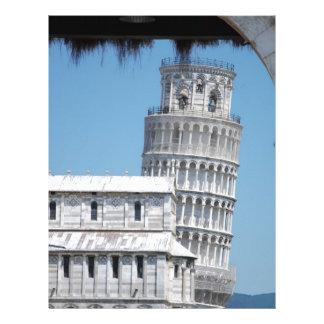 Leaning Tower of Pisa Letterhead
