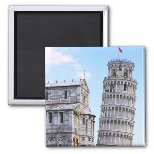 Leaning Tower of Pisa Refrigerator Magnet