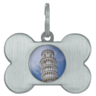 Leaning Tower of Pisa Pet ID Tag