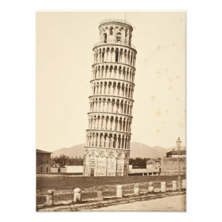 Leaning Tower of Pisa Photographic Print