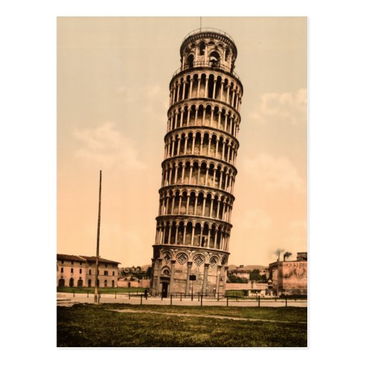 Leaning Tower of Pisa Post Cards