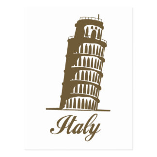 Leaning Tower Of Pisa Post Card