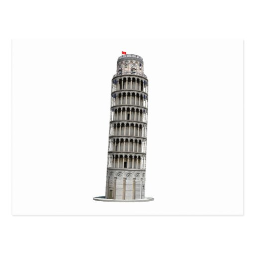 Leaning Tower of Pisa: Post Cards
