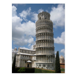 Leaning Tower Of Pisa Postcard