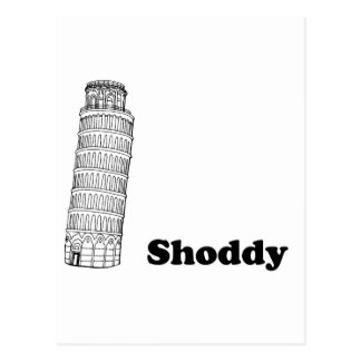 Leaning Tower of Pisa - Shoddy Post Cards