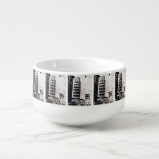 Leaning Tower of Pisa Soup Mug