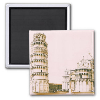 Leaning Tower of Pisa Vintage magnet
