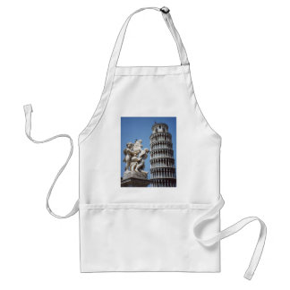Leaning Tower of Pisa with Cherub Statue Aprons
