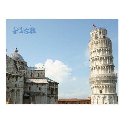 Leaning Tower Post Card