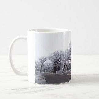 Leaning Trees Mug