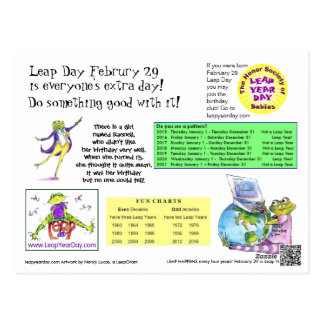 Leap Day Info Card