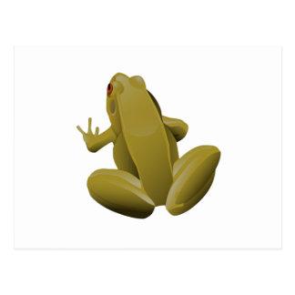 Leap Frog Postcard