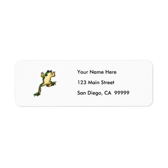 Leap Frog Return Address Label