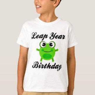 Leap Year Birthday, Cute Frog T-Shirt