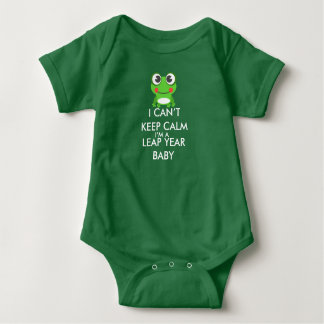 Leap Year/ Leap Day Baby Shitrt Baby Bodysuit