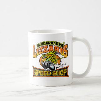 Leapin' Lizzard Speed Shop Coffee Mug