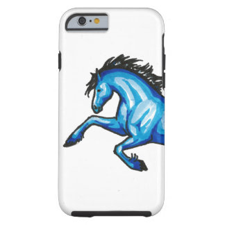 Leaping Blue Horse iPhone 6/6s Case