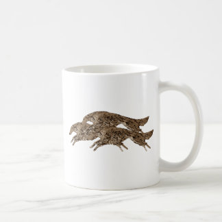 Leaping Borzoi Coffee Mug
