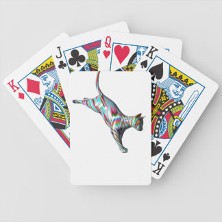 Leaping Cat Bicycle Playing Cards