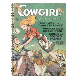 Leaping Cowgirl Notebooks