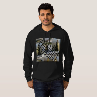 Leaping Crocodiles Photo Collage Mens Hoodie