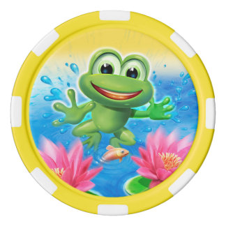 Leaping Frog birthday party game tokens