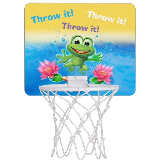 Leaping frog party mini basketball net mini basketball backboard