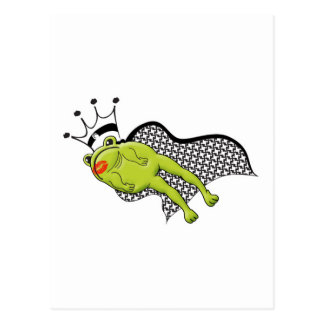 Leaping Frog Prince Postcard