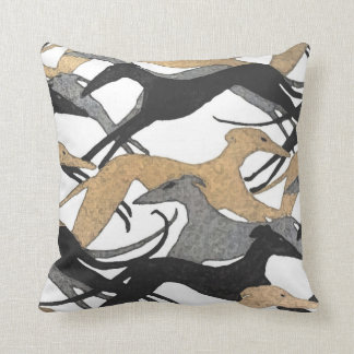 Leaping Hound Pillow