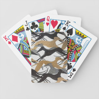 Leaping Hounds Bicycle Playing Cards