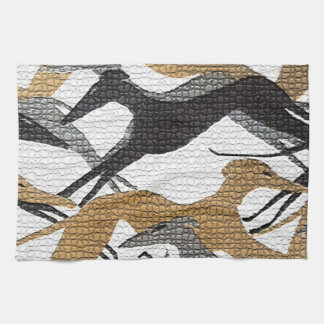 Leaping Hounds Kitchen Towel