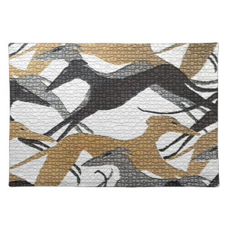 Leaping Hounds Placemat