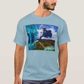 Leaping into the Blue Dimension T-Shirt