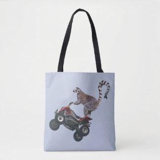Leaping Lemur All Over Print Bag