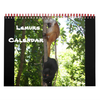 LEAPING LEMURS CALENDARS