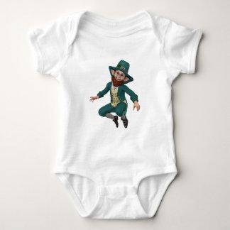 Leaping Leprechaun Baby Bodysuit