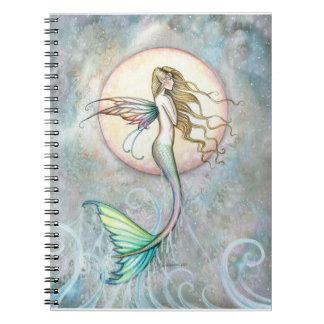 Leaping Mermaid Notebook