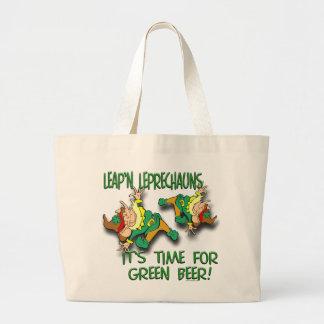 Leap'n Leprechauns Jumbo Tote Bag