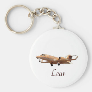 Lear Jet at LAX CLEAN, Lear Keychain