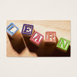 LEARN EDUCATORS BUSINESS CARD