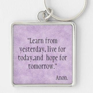 Learn from Yesterday... Key Chains