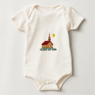 learn of god church baby bodysuit