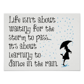 Learn to Dance in the Rain Poster