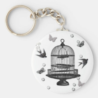 Learn To Fly Basic Round Button Keychain