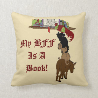 Learn To Read Throw Pillow