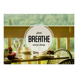 Learn to Relax Inspirational Poster