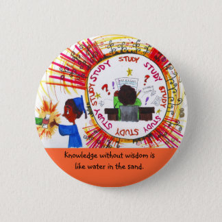 Learning 2 Inch Round Button